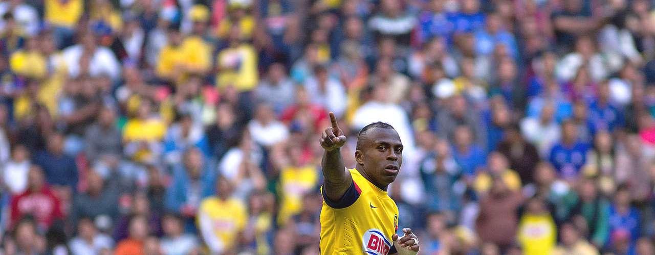 Delantero - Christian Benítez - América. El ecuatoriano fue la figura de la joranda al hacer tres goles en el clásico ante Cruz Azul