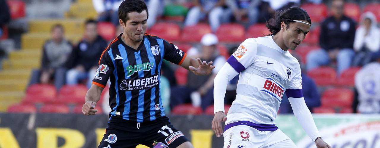 Defensa - Mario Humberto Osuna - Querétaro. El zaguero estuvo siempre de cerca cuidando a Aldo de Nigris e impidió que hiciera daño en su portería