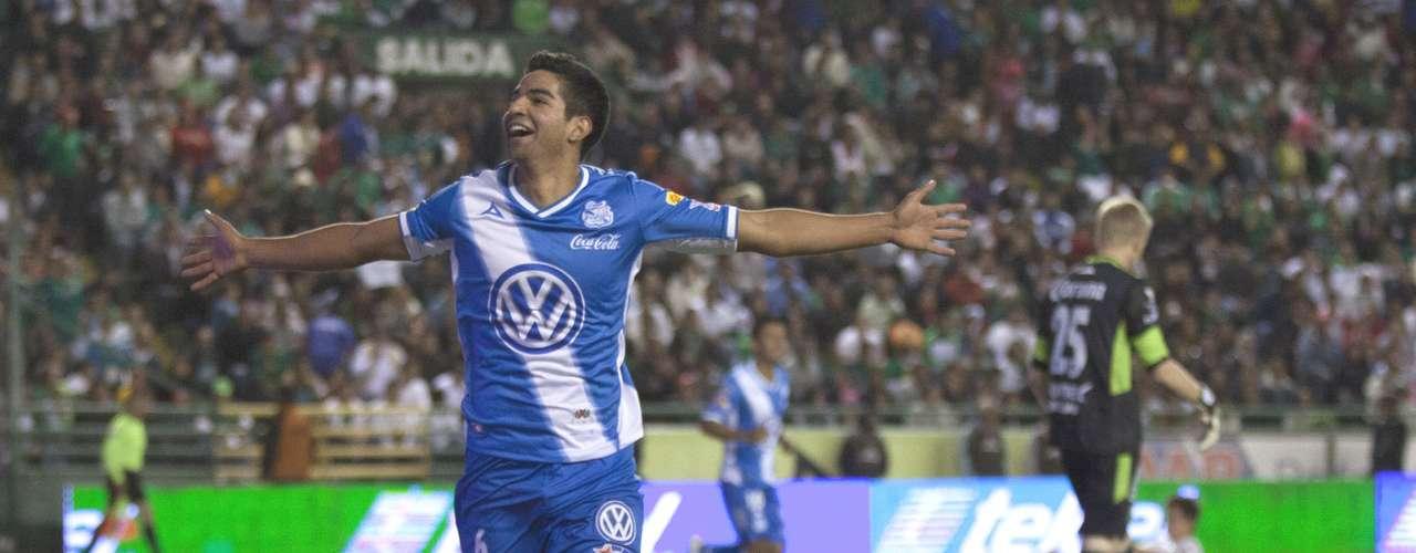 Medio de contención - Diego de Buen - Puebla. Marcó el gol del triuinfo ante León