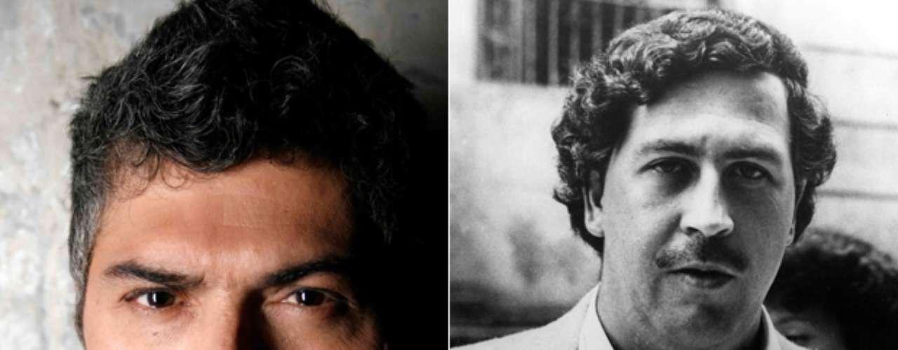 Juan Pablo Franco interpreta al narcotraficante Pablo Escobar.