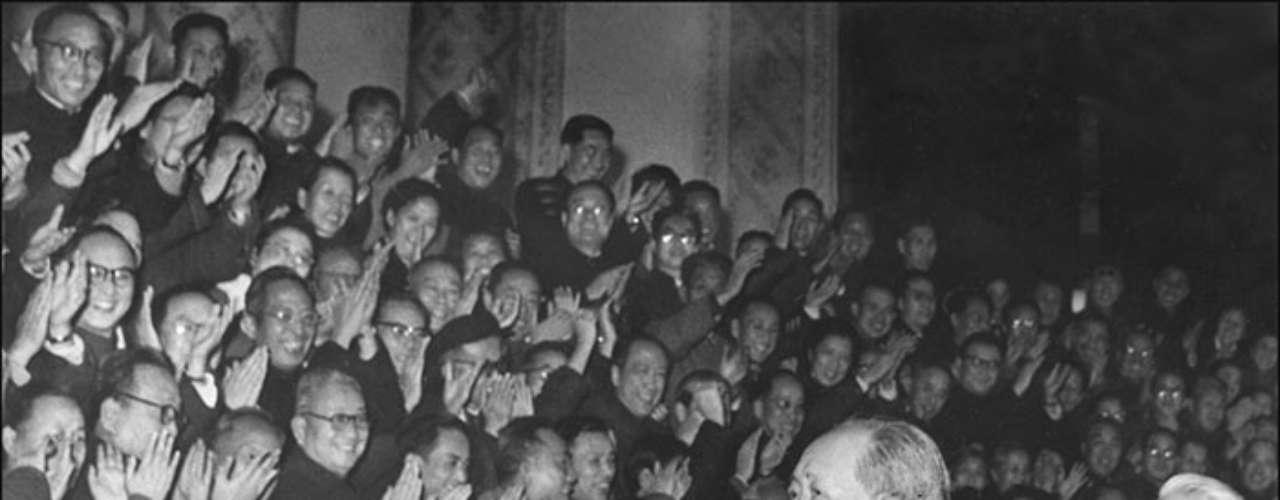 Mao Zedong fue embalsamado en 1976. Pasó a la historia por ser líder del Partido Comunista de China y encabezar la revolución cultural de su país.