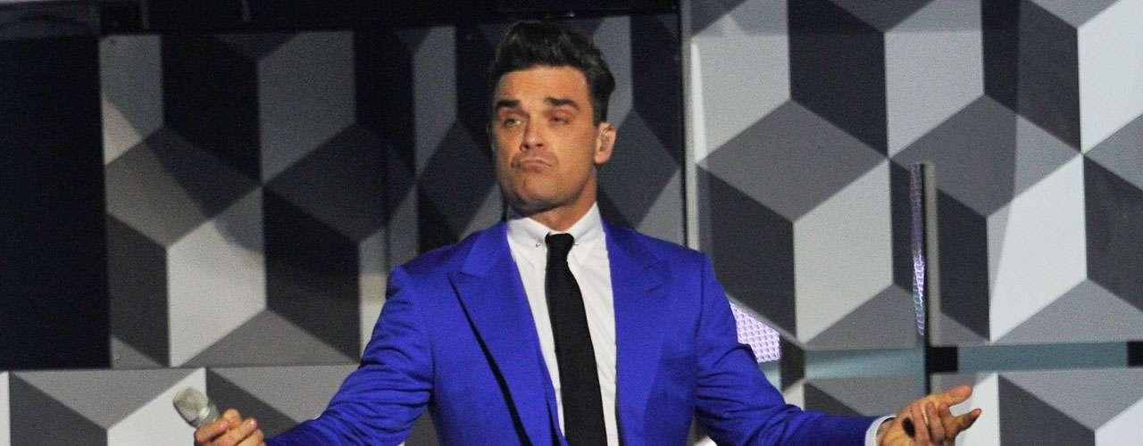 A Robbie Williams se le señaló por atentar contra la fe en su tema, 'Sin, Sin, Sin' dice, \