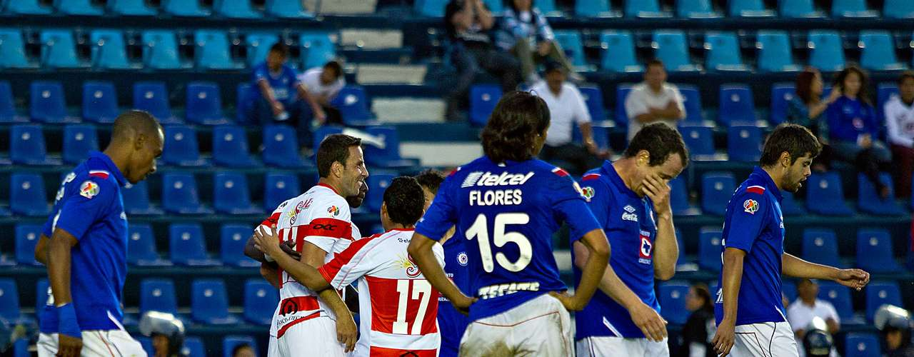 Jaguares now has six points in the tournament while Cruz Azul has 11.