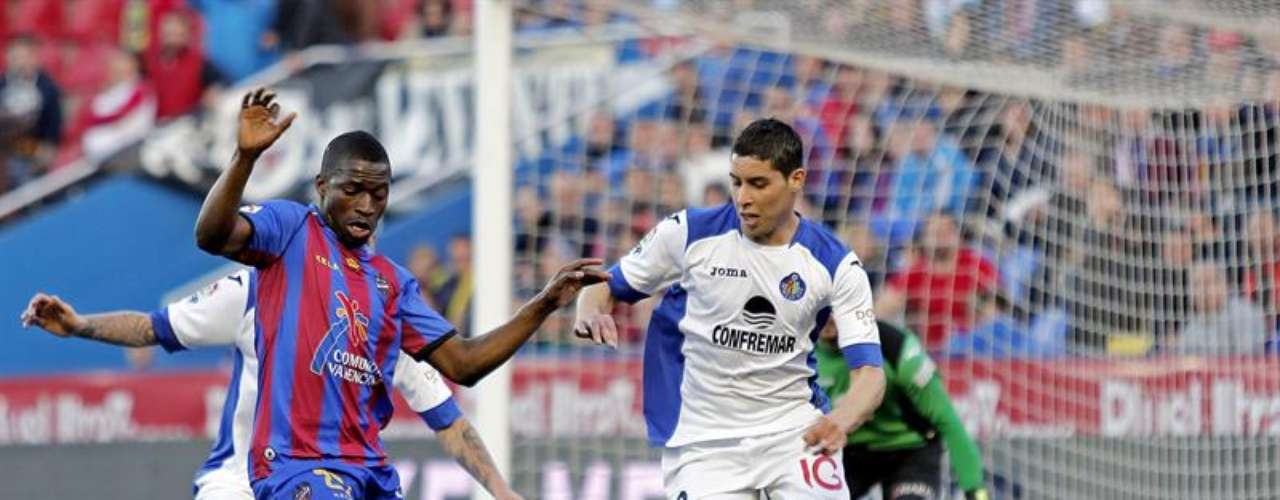 Levante y Getafe protagonizaron el único 0-0 de la jornada.