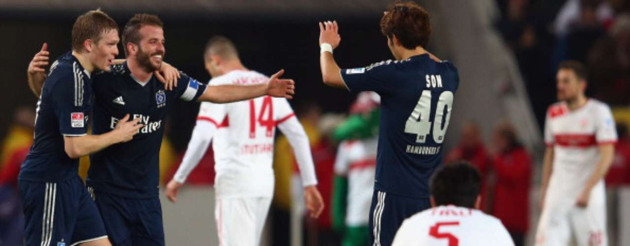 Hamburgo venció 1-0 a Stuttgart y se acerca a puestos de Europa League.