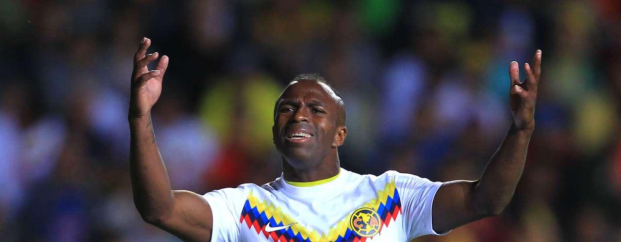 2. El segundo lugar es para el delantero ecuatoriano del América, Christian Benítez, quien tiene 7 goles esta temporada. Este fin de semana anotó el gol de su equipo en el empate 1-1 ante el Morelia.