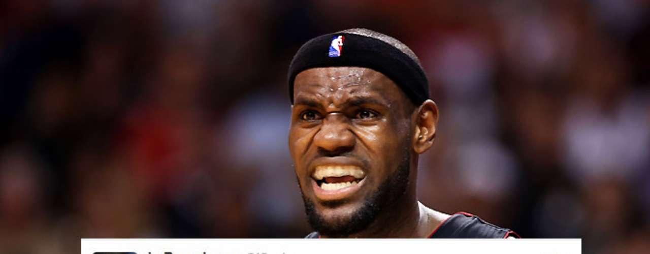 LeBron James también intervino en el tema de Jordan.