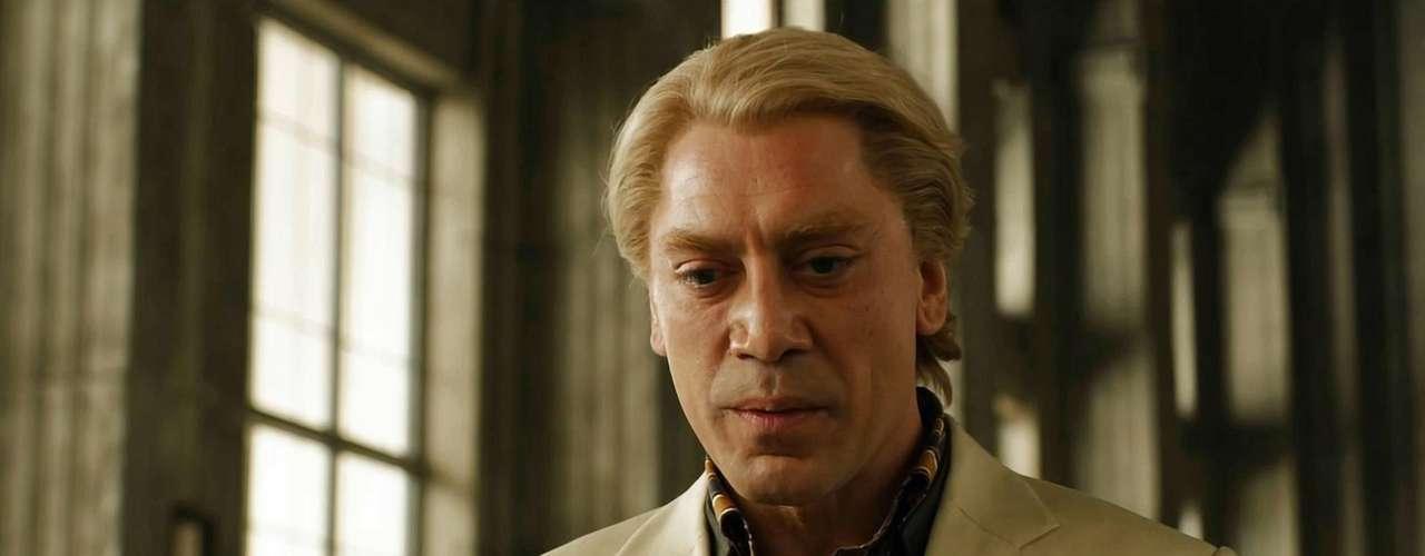 Javier Bardem aterrorizó a todos en 'Skyfall' y su papel fue reconocido por MTV en la categoría de 'Mejor Villano', junto a actores como Tom Hardy, Leonardo DiCaprio y Tom Hiddleston.