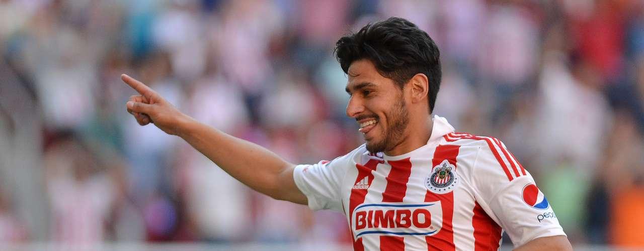 El gol:Rafa Márquez Lugo se mandó un golazo para que Chivas venciera a Pachuca.
