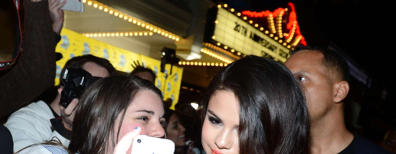 Selena Gomez wowed her beloved fans signing autographs at SXSW Music, Film + Interactive festival in Austin, Texas this Sunday March 10.