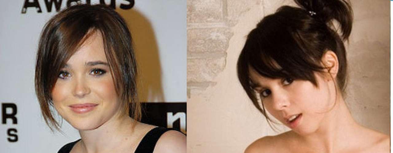 Ellen Page y Ariel Rebel.