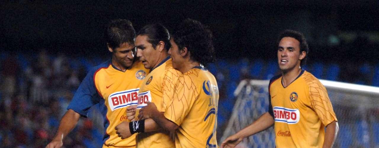 2008 - Flamengo 0-3 América - Octavos de Final