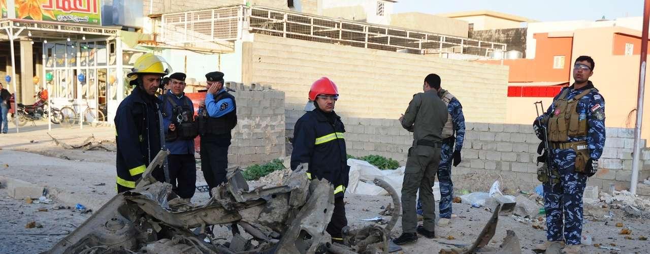 Aunque las tropas extranjeras han regresado a casa y la violencia ha disminuido en intensidad, los atentados siguen causando víctimas en Irak. Desde la invasión en 2003, al menos 110.000 civiles iraquíes han muerto víctimas de la violencia.