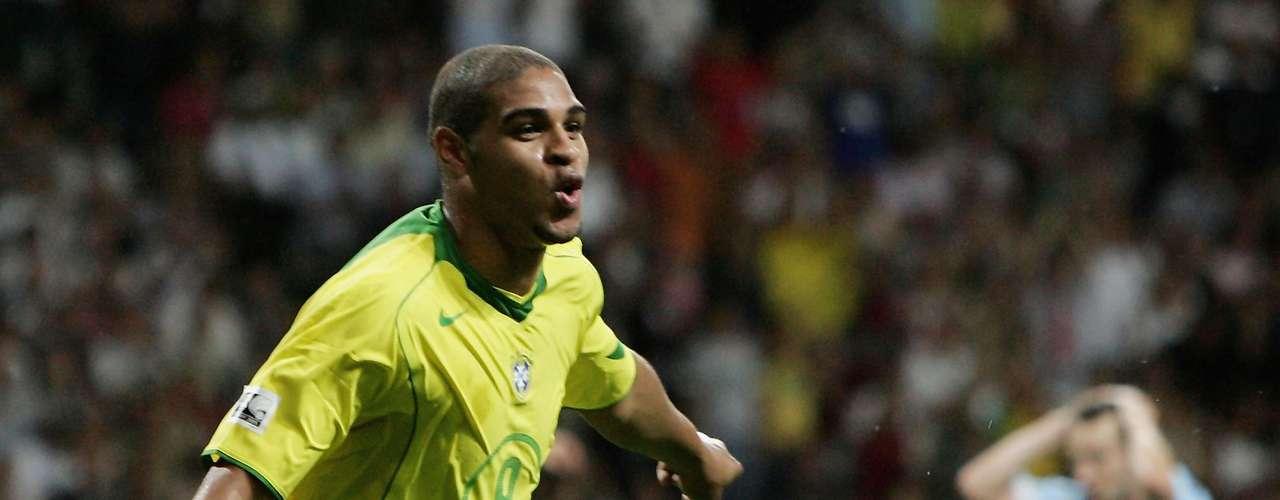 Adriano (Delantero-Brasil): El \