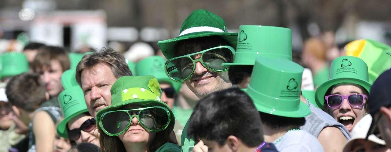 En Estados Unidos, donde hay un gran número de personas de origen irlandés, el Día de San Patricio se ha convertido en un icono cultural y por lo tanto una gran fiesta llena de color y celebración.