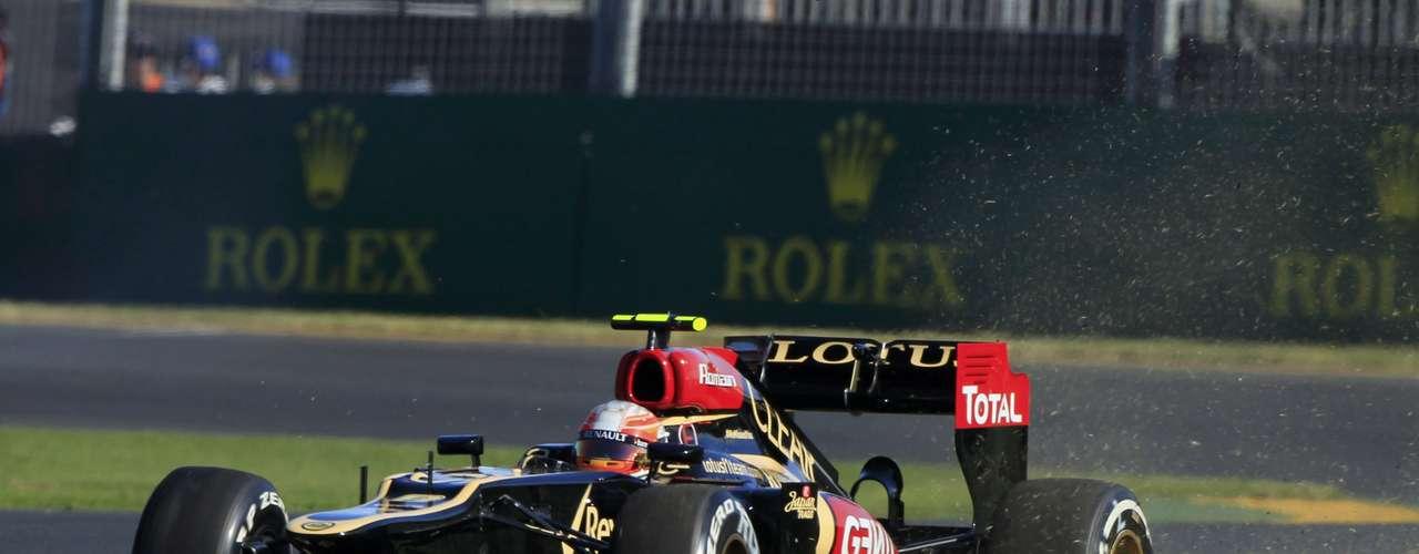 Romain Grosjean comienza el año sabiendo que debe sumar puntos para Lotus.