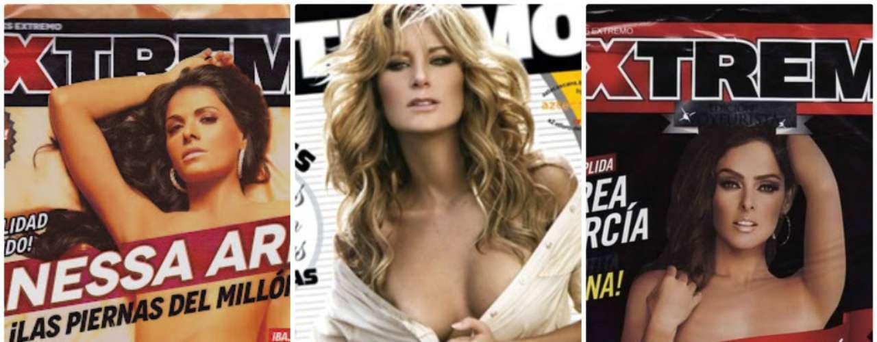 Sin trapitos y sin pudor, a muchas actrices de las nuestras las han seducido para sesiones fotográficas candentes en la popular revista. Unas más que otras, mostraron sus más íntimos ángulos.