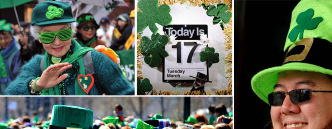 Color, alegría y un gran festejo esos son los elementos principales para vivir la fiesta de San Patricio.