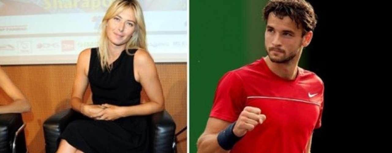 Maria Sharapova ha estado saliendo el también tenista Grigor Dimitrov desde que su boda con el jugador de la NBA Sasha Vujacic fue cancelada. Dimitrov habría salido con Serena Willliams antes de ser pareja de Sharapova.