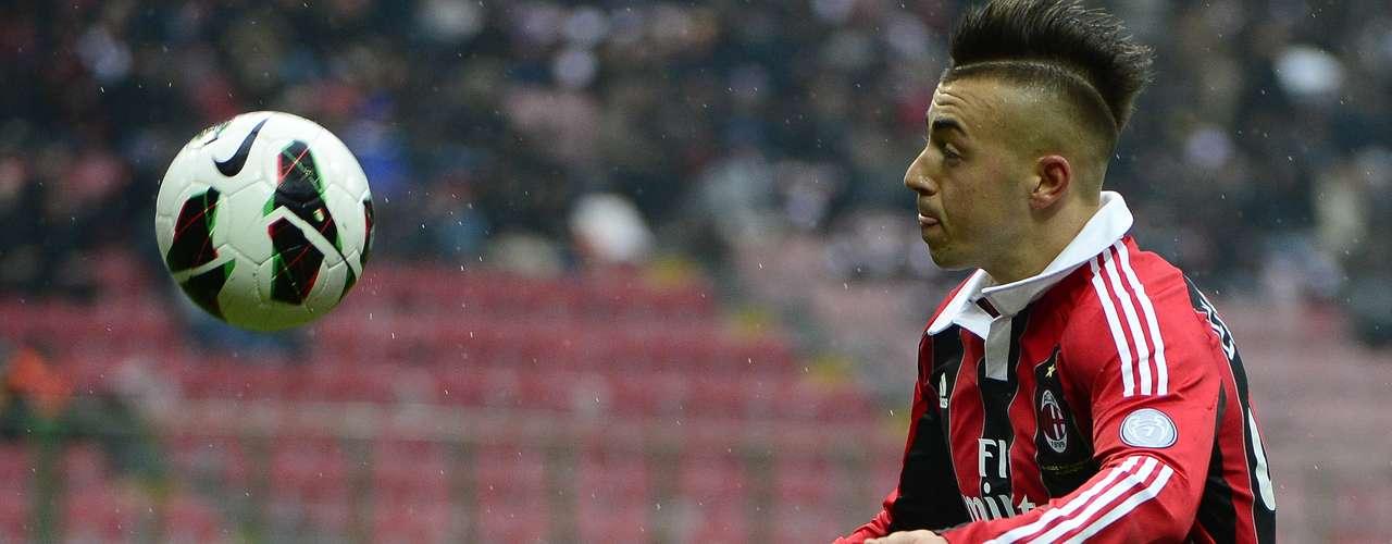 2. El segundo lugar es para el delantero italiano del AC Milan, Stephan El Shaarawy, quien lleva 16 goles esta temporada. Este fin de semana no anotó.