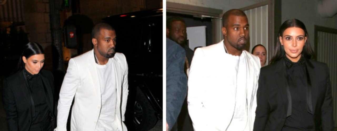 Kim afirmó que ambos ¡están en las nubes! Kanye siempre ha querido una niña', quien se encuentra en el quinto mes de embarazo, comenzó a salir con el rapero en abril de 2012.