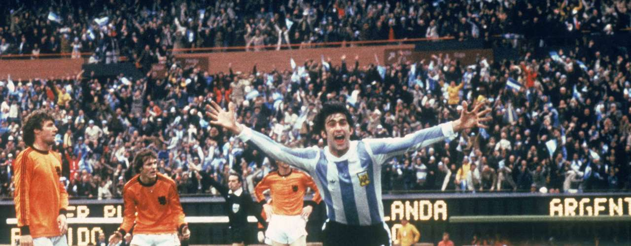 Mario Kempes: Now a commentator, Kempes scored 20 goals in 43 games for Argentina. He was also the hero in the 1978 World Cup with two goals in the final against the Netherlands.