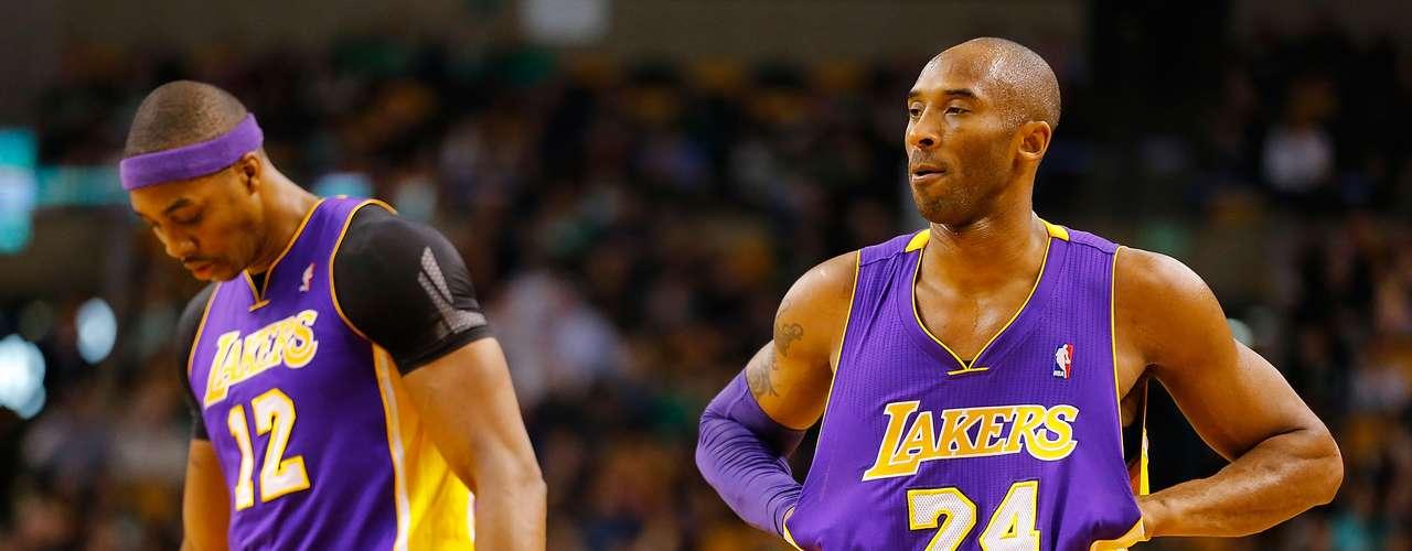 Kobe y Dwight: Todo el mundo sabe que Kobe Bryant no juega limpio, y que Dwight Howard es un niño grande en el fondo, lo que hizo que este año su emparejamiento fuera interesante para el inevitable choque de personalidades. Kobe ha puesto en duda la dureza de Howard y criticó abiertamente al centro en cada oportunidad. La respuesta de Howard: \