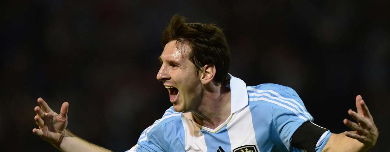 Lionel Messi: Considered my most the greatest player in the world at the present, Messi has scored 31 goals in 77 games, but has still been heavily criticized by Argentine fans for his production for the national team.