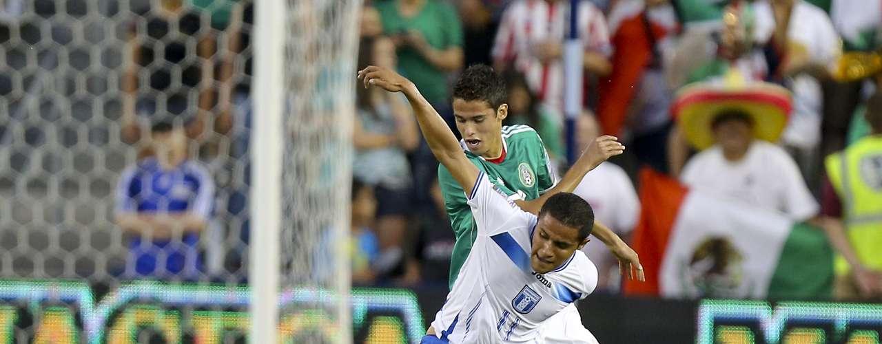 Roger Rojas, delantero delOlimpia de Honduras.