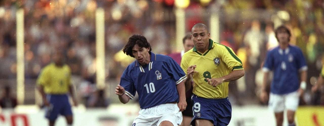 Italia y Brasil empataron 3-3 en un partido amistoso celebrado en Lyon en 1997.