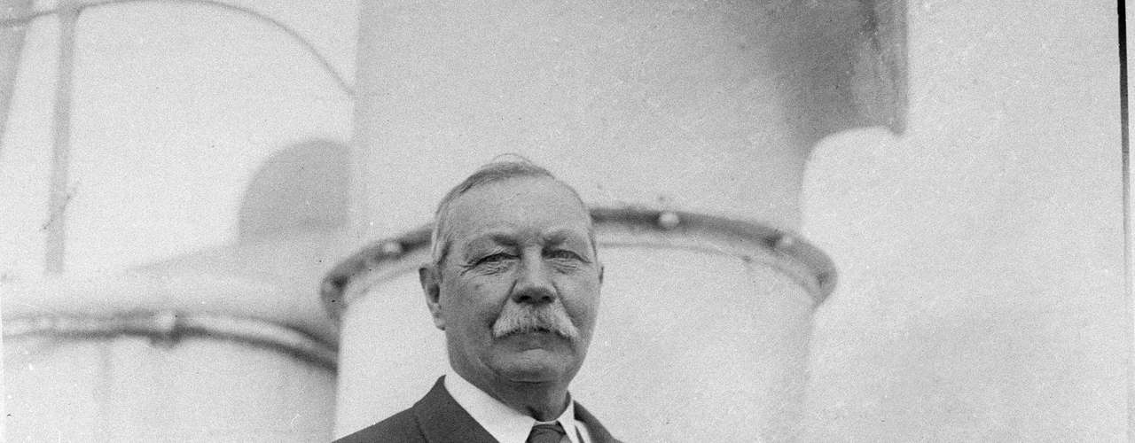 A well known spiritist was writer Sir Arthur Conan Doyle, author of the world famous book series, 'Sherlock Holmes'.