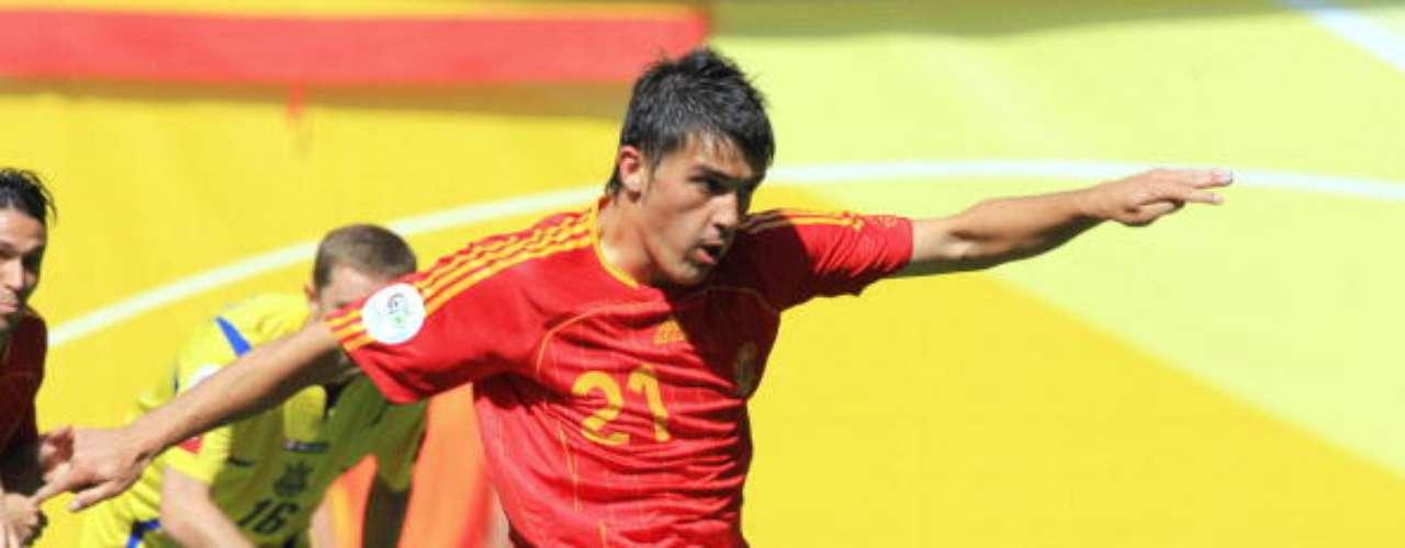El asturiano anotó tres goles en su primera cita mundialista.