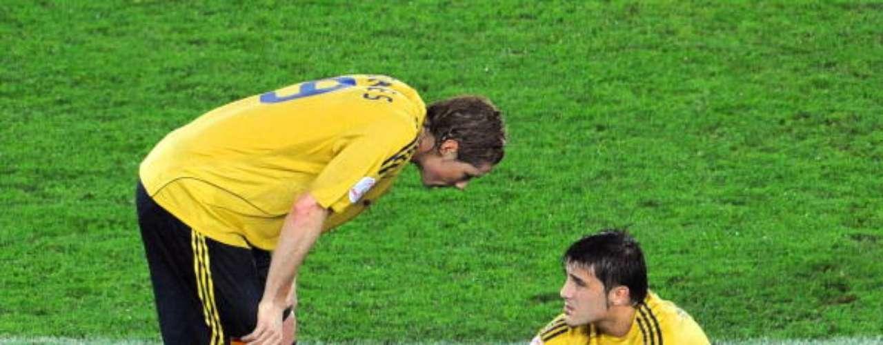 Se lesionó en las semifinales ante Rusia y no pudo jugar la final.