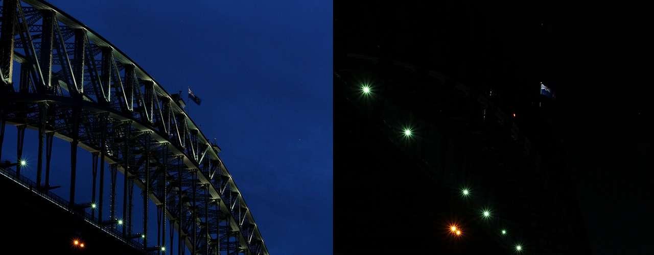 En Australia, donde se originó esta campaña lanzada por la organización Fondo Mundial por la Naturaleza (WWF), la ópera de Sídney y el puente de la bahía de Sídney fueron uno de los primeros monumentos a nivel mundial en apagar sus luces.
