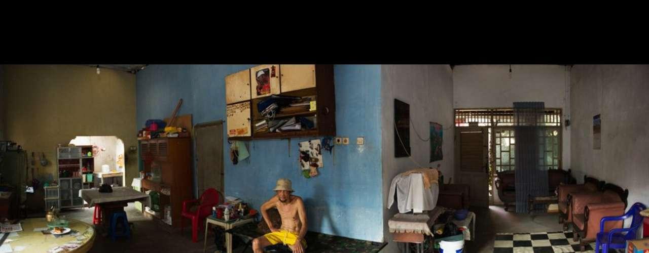 Yeow Kwang Yeo conoció a este hombre en su pueblo natal cerca de Yakarta, la capital de Indonesia. \