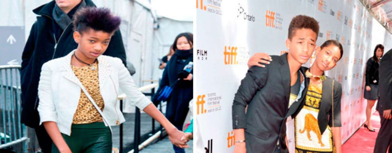 Will Smith, comenta que hay poca compatibilidad del estilo de su hija con su personalidad pero que no niega sus raíces, se ven muy raperos en eventos informales y como unos príncipes en otros donde se requiere mayor elegancia, siempre guardando sus proporciones entre la elegancia infantil y adulta. Willow y su hermano, Jaden