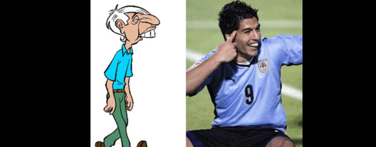 La victoria de la Selección Chilena por 2-0 ante Uruguay en el Estadio Nacional hizo aflorar la creatividad de los fanáticos de la Roja que las emprendieron contra el goleador charrúa debido a su reacción en el encuentro: golpeó a Gonzalo Jara y Claudio Bravo y le hizo gestos al público. Mira las divertidas creaciones.