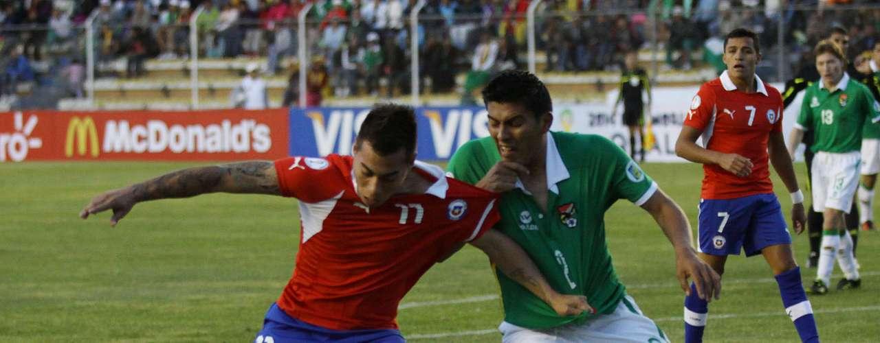 FECHA 14, CHILE vs BOLIVIA el 11 de junio.