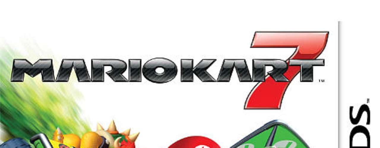 3.- ¡El mundo de las carreras es ahora mayor, mejor y en tres dimensiones! Puedes personalizar tu kart, sentarte en el asiento del conductor y manejar el volante con los controles por movimientos. Además, la diversión multijugador también ha sido mejorada. Asimismo, podrás competir con tus amigos más cercanos o a distancia a través de internet, para así competir con personas de todo el mundo. Hasta ocho personas pueden jugar a Mario Kart 7 con una única tarjeta de juego, en las modalidades Grand Prix o Batalla, siempre que cada uno de ellos tenga una consola Nintendo 3DS.