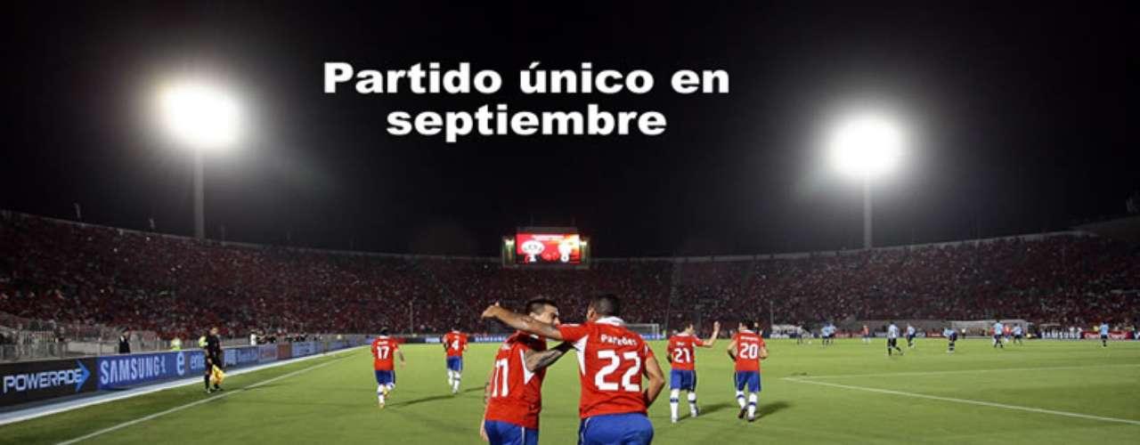 En septiembre, la Roja volverá a ser localy posteriormente quedará libre.