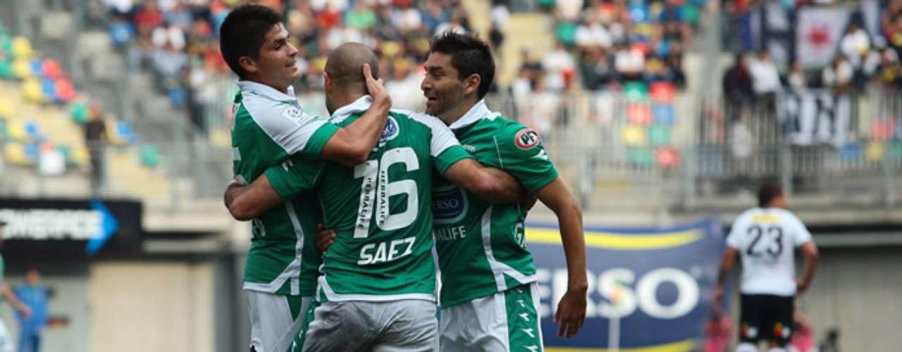 El encuentro fue suspendido al minuto 57 y cuando los itálicos superaban a los albos por 3-1. Los goles del local fueron todos obra de Sebastián Saez, mientras que el descuento del Cacique lo anotó Gonzalo Fierro de penal.