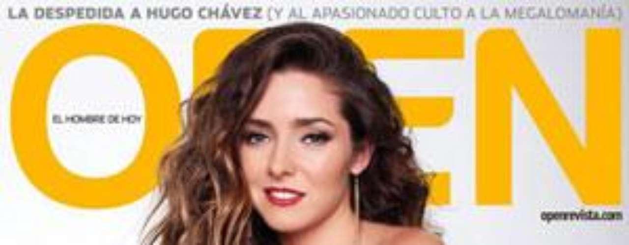 La actriz Ariadne Díaz quien actualmente aparece en 'La Mujer delVendaval' presenta su portada en la revista 'Open', donde enseñó unpoco de más para sus fans.Aislinn Derbez, de latelevisión a portada de revista para caballeros  Aylín Mujica presenta orgullosa surevista de Playboy  Estrellas denovela que se han desnudado en Playboy