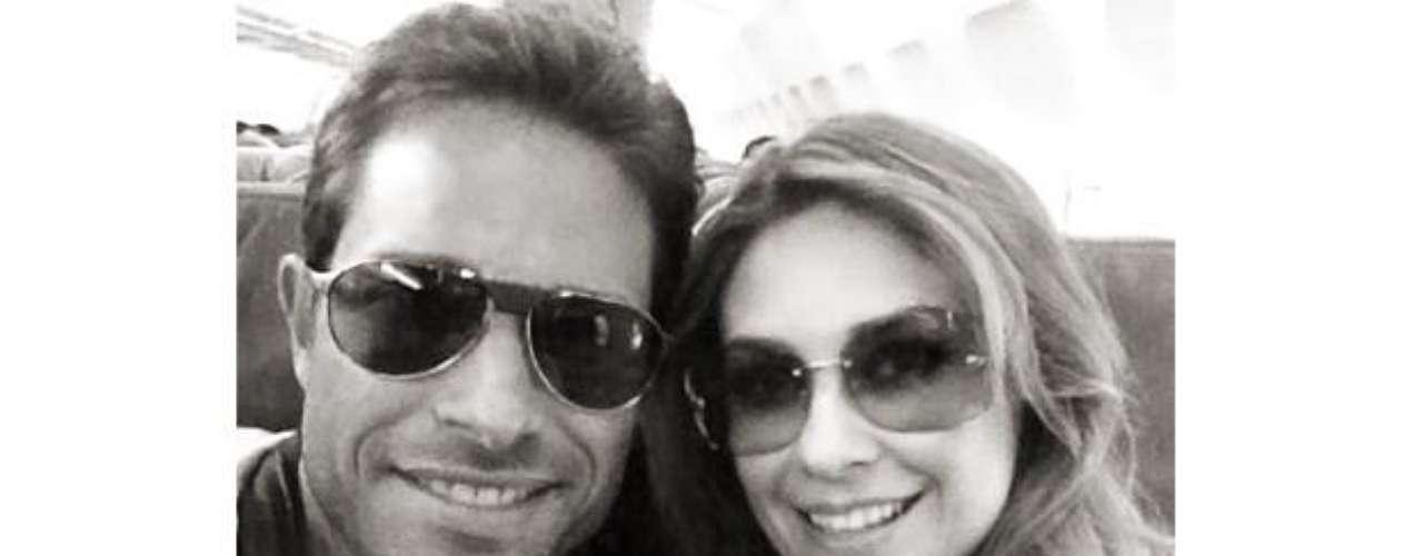 ¡Love, love! Sebastian Rulli y Aracely Arámbula