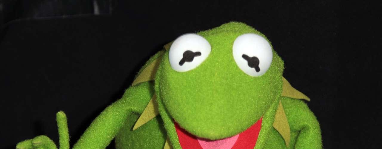La Rana Kermit, al igual que su creador Jim Henson, es zurdo.