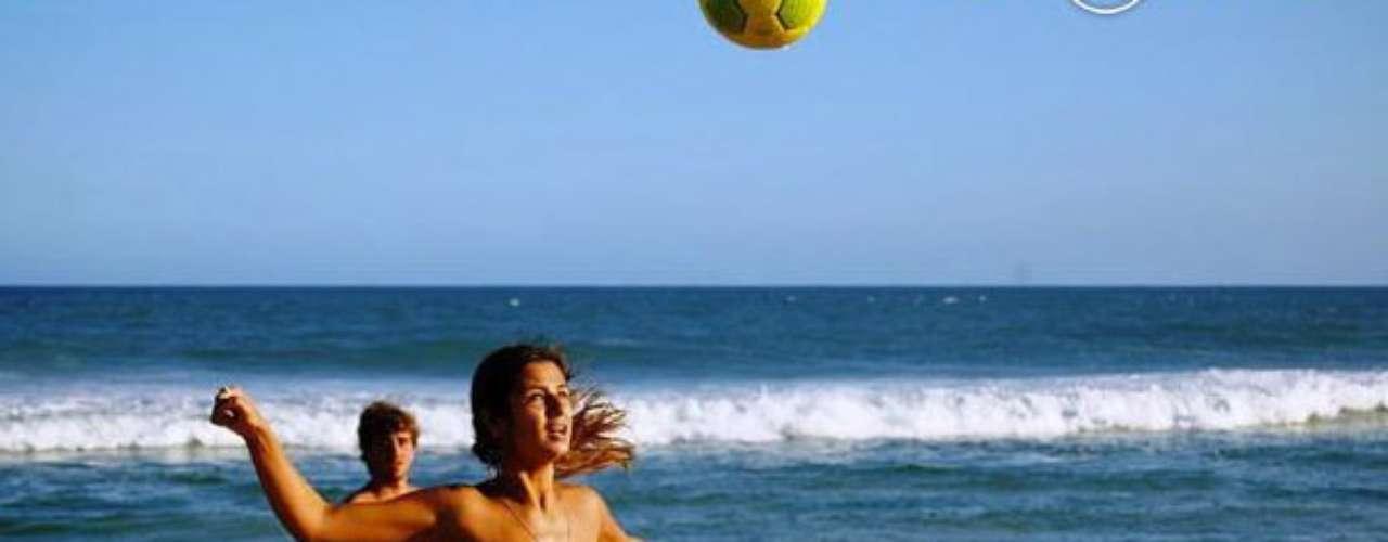 Ronaldo cayó rendido ante los encantos de Paula Morais