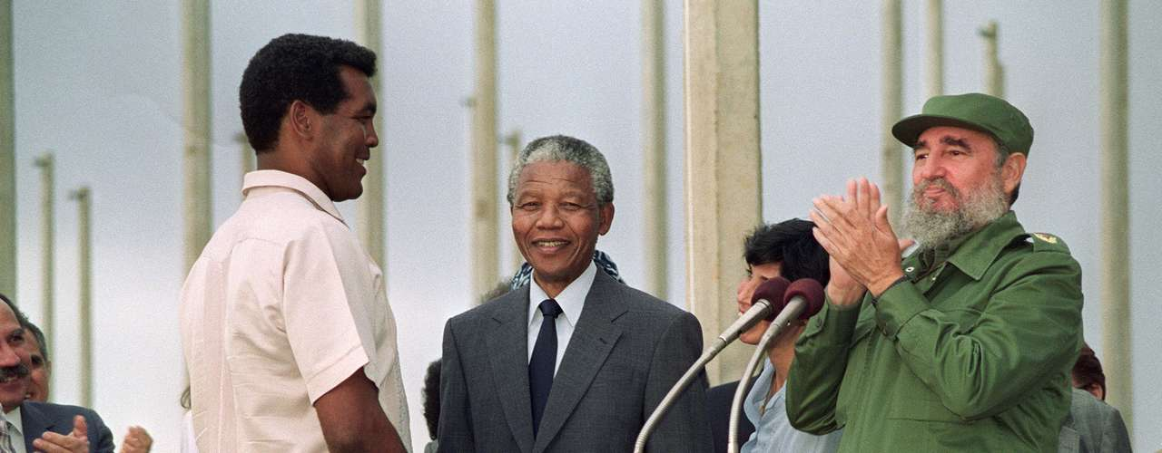 En julio de 1991, Mandela es elegido presidente del Congreso Nacional Africano y pasa a viajar a varios países, comprobando ser un verdadero estadista.