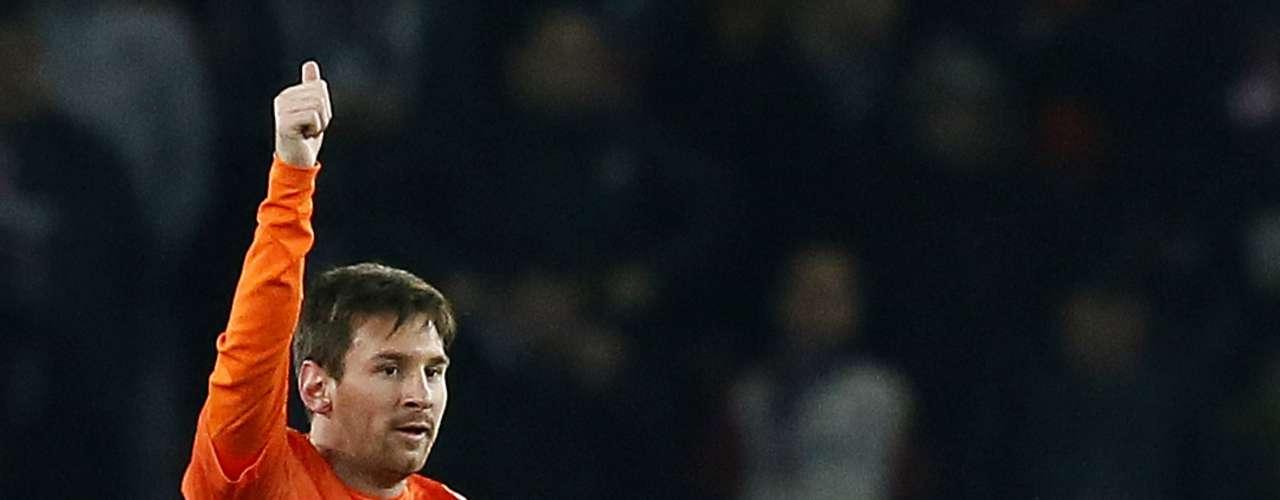 Lionel Messi, goleador del Barcelona, le sigue de cerca a Cristiano con 8 goles en el torneo producto de sus 708 minutos. Messi puede perderse la vuelta de los Cuartos de Final de la Champions ante el PSG por una lesión.