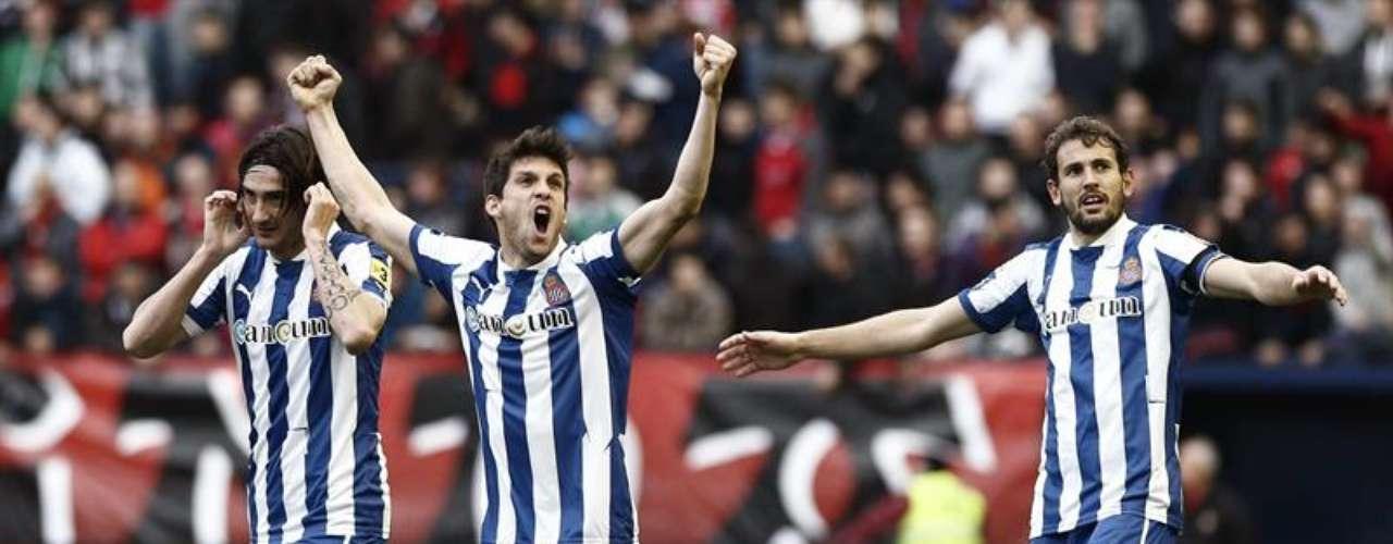 Espanyol casi aseguró su salvación, con la victoria (2-0) que sacó ante Osasuna.