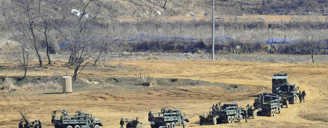 7 de abril de 2013 - Corea del Sur no descarta que puedan producirse nuevos ensayos con misiles de Pyongyang antes o después del próximo miércoles, fecha límite para la evacuación a las embajadas extranjeras. (Fuente: EFE)