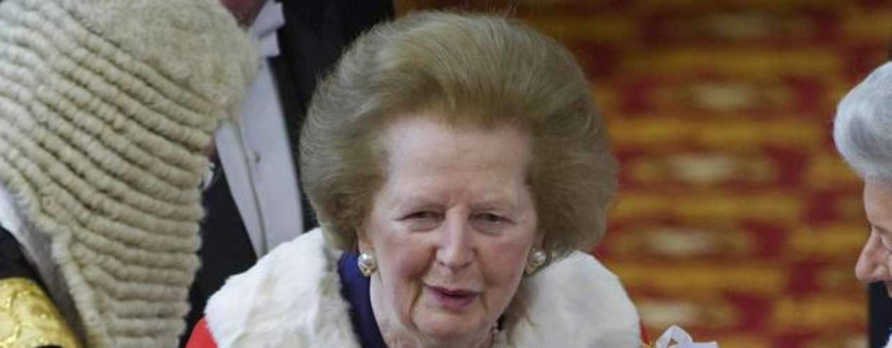 Margaret Thatcher murió tras un accidente cerebrovascular a los 87 años. Conocida como la \